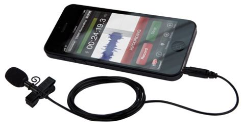 lavalier microphone for iphone r 216 de microphones launches smartlav lavalier mic for iphone