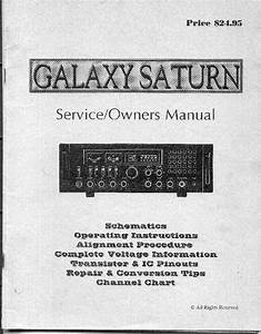 Galaxy Saturn Service Manual Service Manual Download