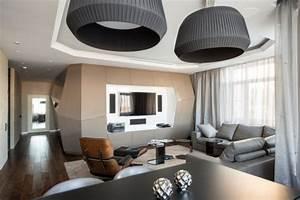 Dominion, U2013, A, Futuristic, Moscow, Apartment, With, Custom
