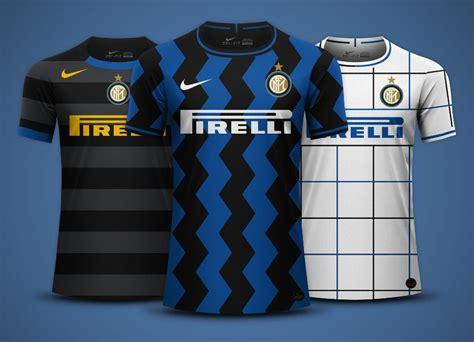 Inter Milan 2020-21 Home, Away and Third Kit Predictions ...