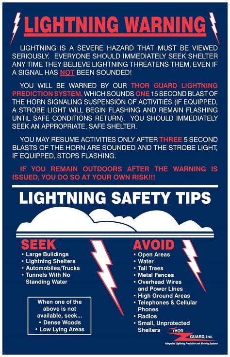 Lighting Tips by Lightning Warning City Of Sc