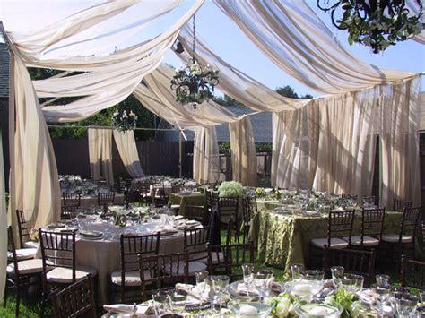 outdoor wedding reception decoration ideas weddings by lilly