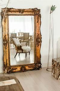 Miroir Vénitien Ancien : comment d corer avec le grand miroir ancien id es en photos ~ Preciouscoupons.com Idées de Décoration