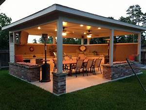 15 diy how to make your backyard awesome ideas 2 With outdoor lighting system with built in speakers for decks and patios