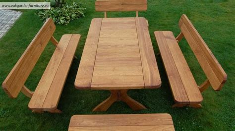 Best Wood For Garden Furniture wooden garden furniture set