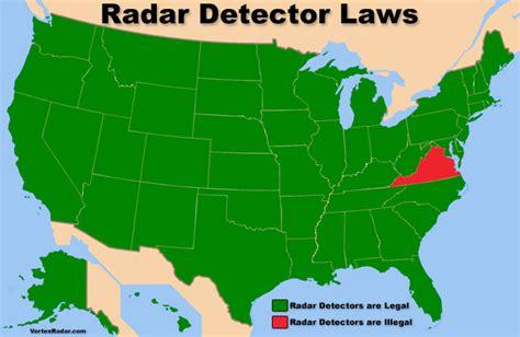 radar detectors legal   usa police radar