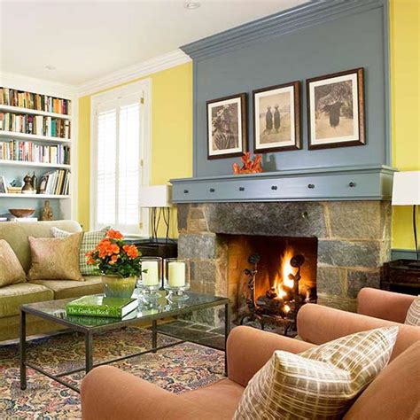Living Room With Fireplace Design Ideas