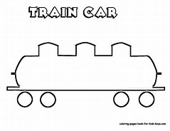 HD Wallpapers Train Car Coloring Pages To Print