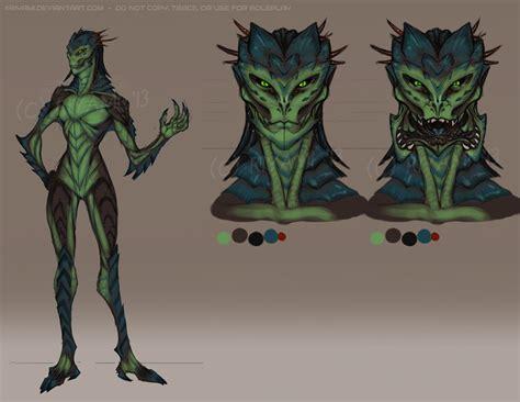 Reptilian-insectoid Alien By Riyami On Deviantart
