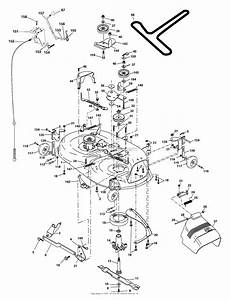 Ayp  Electrolux Sp18h42sta  2003  Parts Diagram For Mower Deck