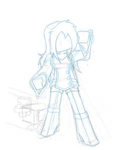 Minecraft Skins Girl Drawing Base