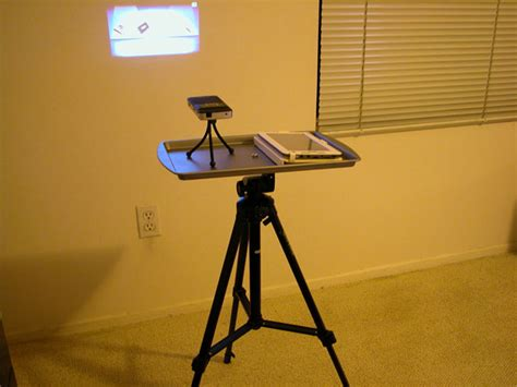 diy pico projector tripod stand avs forum home theater