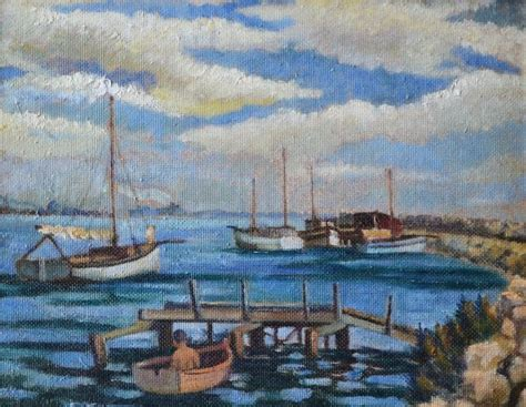Swan River Boats For Sale by Paintings Iris Francis Page 2 Australian Auction