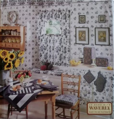 designs for kitchens pictures waverly easy to do kitchen decor butterick 6676 pattern 6676