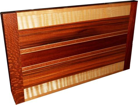 Buy a Hand Made Exotic Wood Cutting Board ~ Double Sided