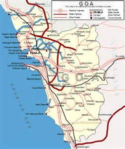 Complete Goa India Road Map for Tourists