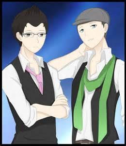 Jacksepticeye and Markiplier Anime