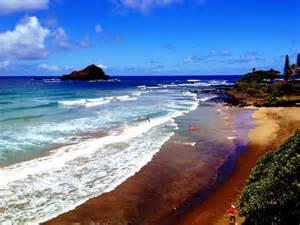 Red Sand Beach Maui Hawaii