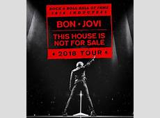 Bon Jovi Announce 2018