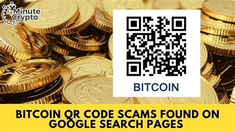 I almost gave up too until i came a. Bitcoin QR Code Scams Found on Google Search Pages - YouTube