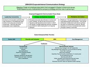 best photos of internal communication plan templates With internal comms strategy template