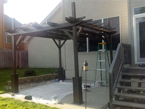 ana white pergola project diy projects