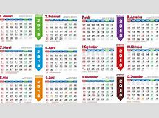 Kalender 2018 Indonesia Template kalender HD
