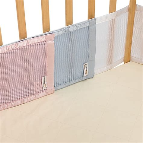 mesh crib liner breathablebaby 174 mesh crib liner for portable cribs and