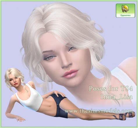 The Sims Models Poses For Ts4 By Innalisa • Sims 4 Downloads