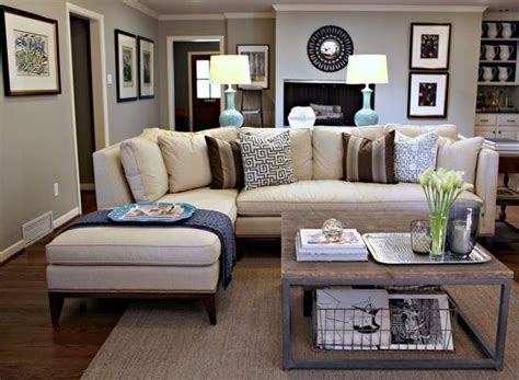 I hope this post helped give you inspiration on how to decorate with a beige or cream sofa. hmmm....does this mean I could make the beige couch & grey walls work? - Home Decorating Magazines