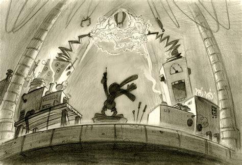 Epic Mickey Concept Art By Jordan Lamarre Wan Concept