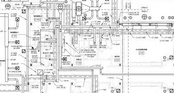 plumbing blueprints pictures cad 3d bim drafting outsourcing services mep cad 3d