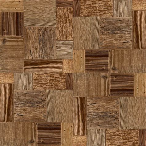 Seamless Carved Wood Blocks with Maps   Texturise Free