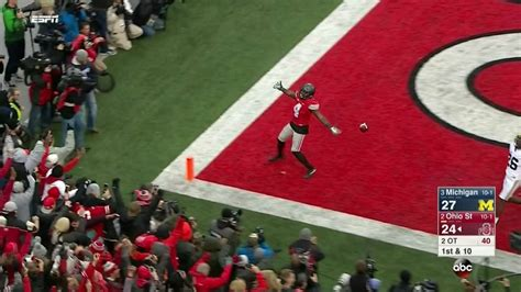 ohio state   questionable    game