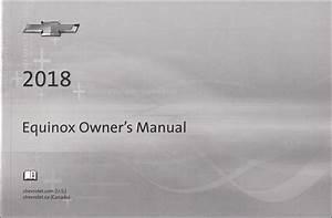 2018 Chevrolet Equinox Owner U0026 39 S Manual Original