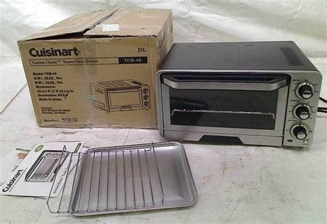Cuisinart Custom Classic Toaster Oven by Cuisinart Tob 40 Custom Classic Toaster Oven Broiler