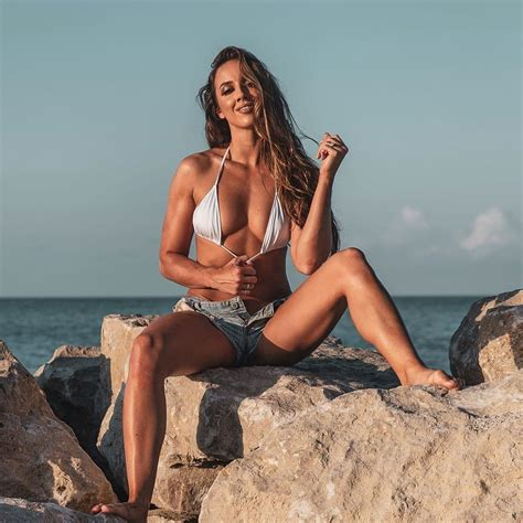 Chelsea Green in a classy look in a nude bikini