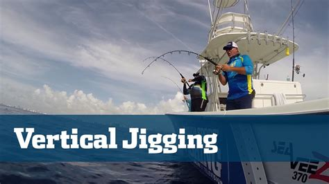 fishing jigging vertical sport florida tackle tv action techniques tips