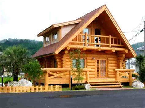 gambar desain rumah kayu minimalis modern rumah kayu