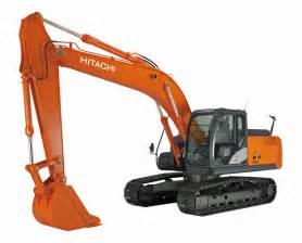 New Hitachi Excavators