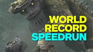 Shadow of the Colossus World Record Speedrun - YouTube