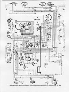 Mini Clubman Saloon And Estate 1976 Electrical Wiring Diagram