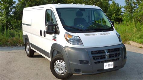 Dodge Ram Promaster Reviews by 2017 Ram Promaster 1500 Cargo Test Drive Review