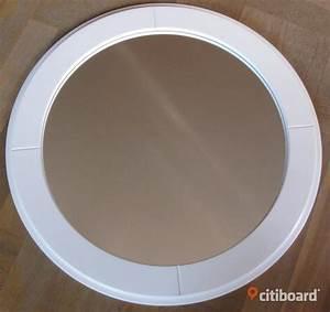 Plastikschüssel Rund 60 Cm : rund spegel med vit tr ram 60 cm sundsvall citiboard ~ Eleganceandgraceweddings.com Haus und Dekorationen