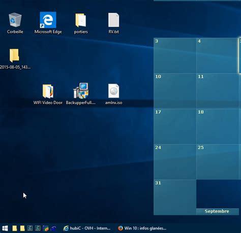 mettre une icone sur le bureau afficher l 39 icône edge sur le bureau