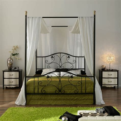 canapé beddinge iron canopy bed frame homesfeed