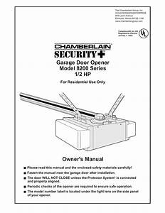 Liftmaster Garage Door Opener Manual 1280r