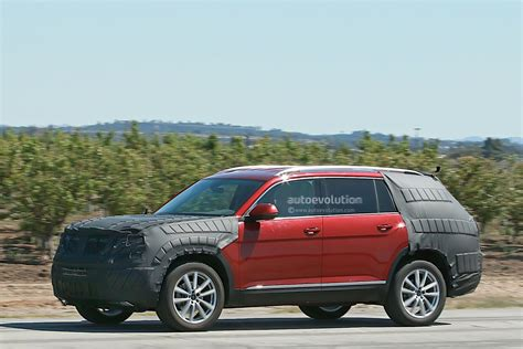 volkswagen suv volkswagen testing a new suv with production body we