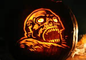 Corpse Bride Pumpkin Template Free by Scary Halloween Pumpkin Easyday