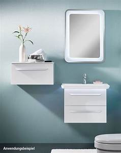 Led Beleuchtung : lanzet spiegel 80 x 60 cm mit indirekter led beleuchtung 7209212 megabad ~ Orissabook.com Haus und Dekorationen